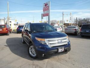 2012 Ford Explorer AUTO 4WD 7 PASS BLUETOOTH SUNROOF  AUX USB CD A/C