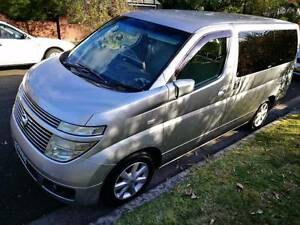 Immacuate Condition 2004 Nissan Elgrand Van/Minivan for sale!!! Artarmon Willoughby Area Preview