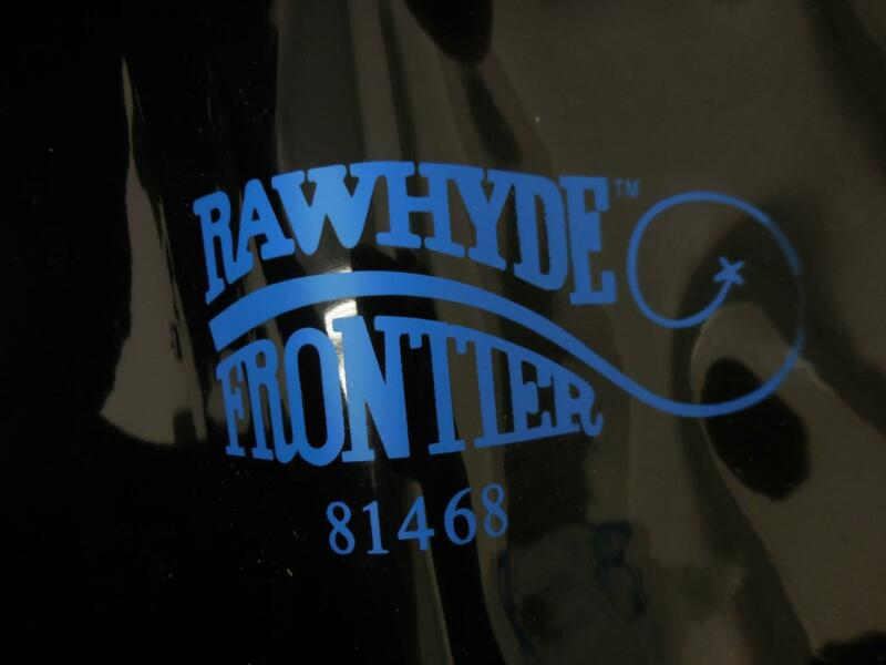NEW Rawhyde Frontier 81468 WELDING SCREEN 6X8 16MIL PVC in Black