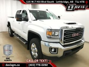 2017 GMC Sierra 3500HD SLE DURAMAX DIESEL, B & W HITCH, HEATE...