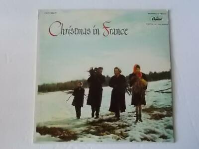 Christmas In France  Les Petits Chanteurs De Versailles Capitol LP Chansons VG ()