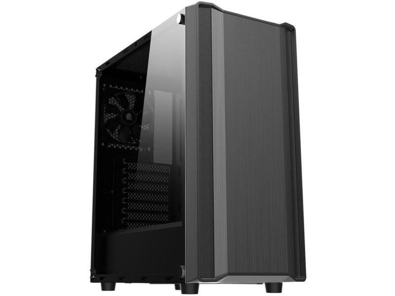 Sama S35-BK Black Dual USB 3.0 ATX Mid Tower Computer Case with 1 x 120mm Fan x