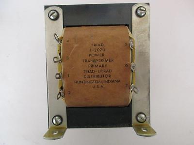 Triad Rectifier Power Transformer F-207u Sec 12.2 To 29 Vac 22.5 Or 12 Amps Dc