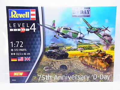 "82604 | Revell 03352 75th Anniverysary ""D-Day"" Set 1:72 Bausatz NEU OVP"