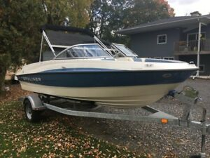 2013 Bayliner 195 185 with 4.3 Mercury V6