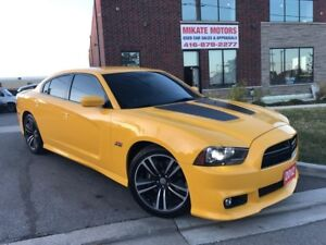 Wow Rare 2012 Dodge Charger HEMI SRT8 Super Bee 38,000 KM