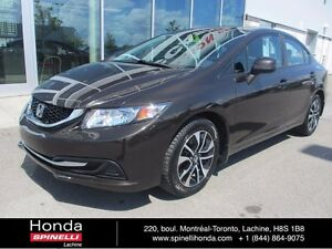 2013 Honda Civic EX TOIT BAS KM**DEAL PENDING** AUTO ROOF LOW KM