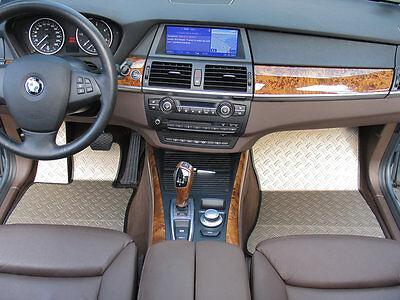 BMW X5 Typ E70/X70 Alu Fußmatten Set 5-tlg. DTE-S ()
