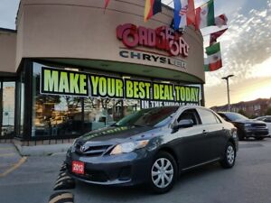 2013 Toyota Corolla CE P-ROOF H-TED SEAT KEYLESS
