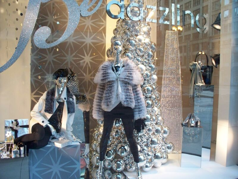 Take your inspiration from the wintery outdoors and make your look sparkle this year