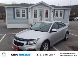 2015 Chevrolet Cruze 2LT 6 SPEED MANUAL..LEATHER..POWER ROOF...B