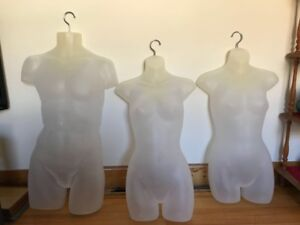 Display mannequins 2 females and 1 male