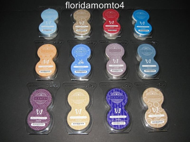SCENTSY GO REFILL PODS (You Choose) 50+ Scents FREE FAST SHIPPING New w/Bonus!