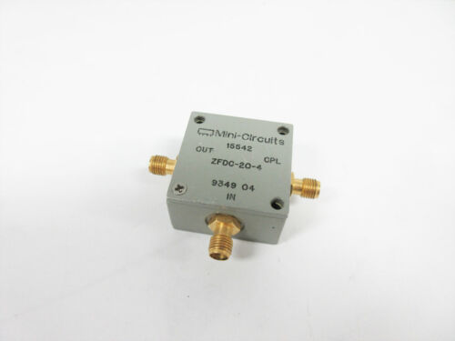 MINI-CIRCUITS ZFDC-20-4 DIRECTIONAL COUPLER 50Ω SMA 1 TO 1000 MHZ ZFDC-20-4-S