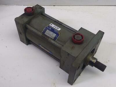 Miller Pneumatic Cylinder A61b 250psi 3.25 Bore 4 Stroke 1 Rod 0.75 Thread