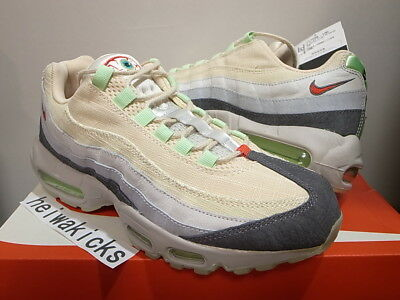 2014 NIKE AIR MAX 95 HS QS HALLOWEEN GLOW IN THE DARK 717599-100 size 8.5 - Air Max 95 Halloween