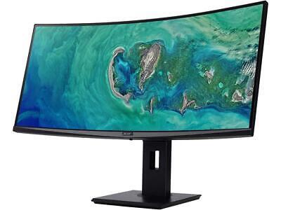"Acer ED347CKR bmidphzx 34"" UW-QHD 3440 x 1440 100Hz 4ms HDMI, DisplayPort, DVI A"