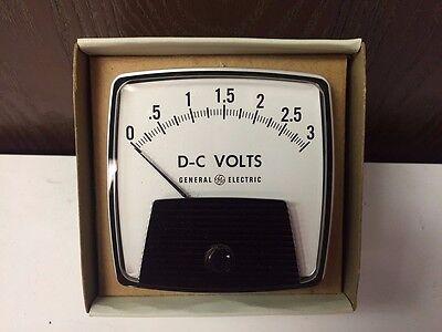 General Electric Panel Meter 0-3 50-162011