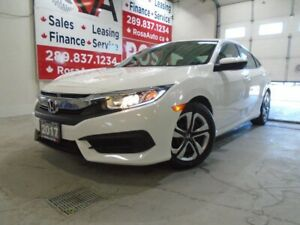 2017 Honda Civic AUTO LOW KM 4 NEW TIRES+ BRAKES B-TOOTH B-CAMER
