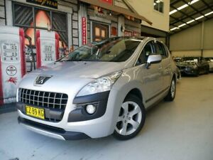 2012 Peugeot 3008 T8 MY12 Allure SUV Silver 6 Speed Sports Automatic Hatchback