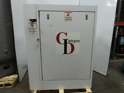 Gardner Denver Efc99a 30hp 230460v 125psi Rotary Screw Air Compressor 23k Hrs.