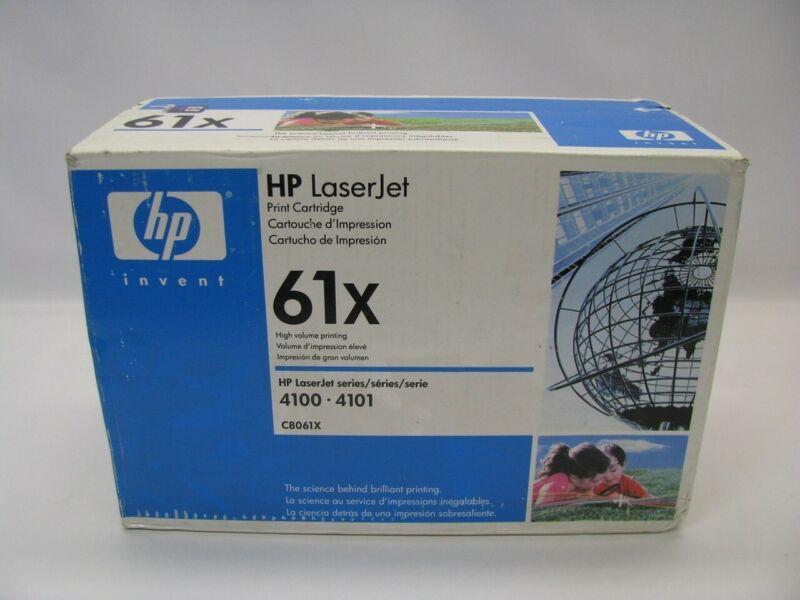 HP LaserJet C8061X Black Toner Print Cartridge *New Sealed*