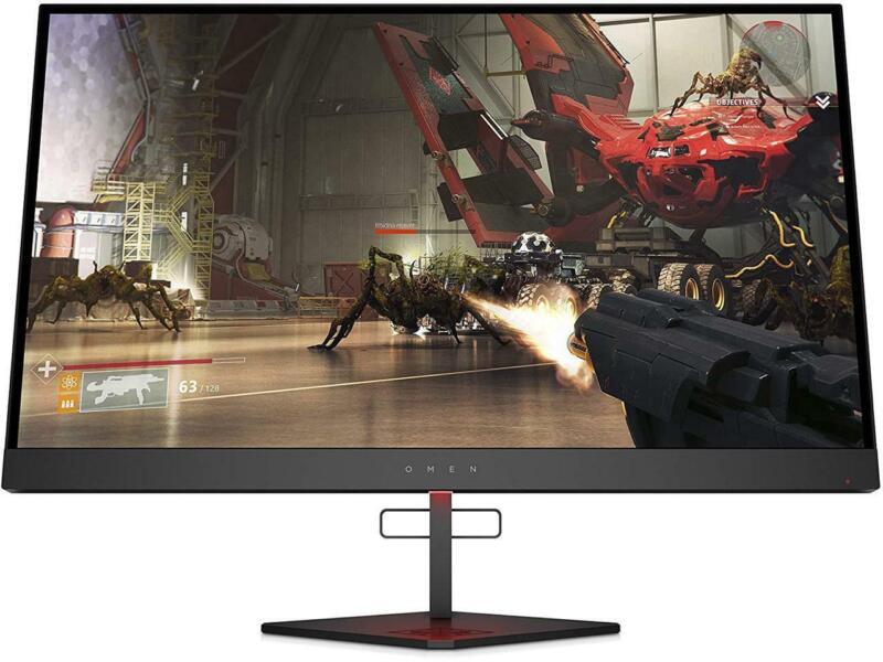 "HP Omen X 27"" 240Hz 1ms Gaming Monitor QHD 2560x1440p AMD RadeonFreeSync 6FN07AA"