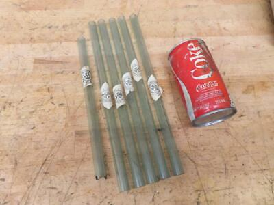 6 New Antique 12 X 58 Sight Glass Tubes Hit Miss Steam Engine Parts Nos
