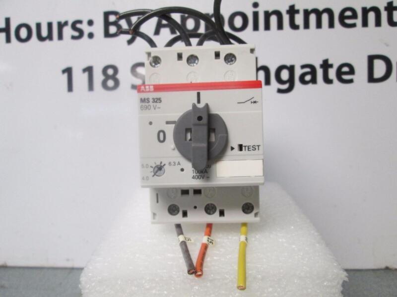 ABB MS325 Low Voltage Manual Motor Protective Starter W/ Adj Trip 1Amp