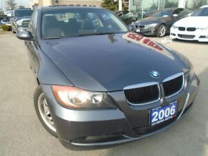 2006 BMW 3 Series 323i SUNROOF  NO ACCIDENTS, NO RUST ,AUXILIARY