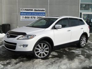 2009 Mazda CX-9 GT 130000KM AWD CUIR TOIT OUVRANT 7 PASSAGERS