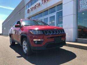 2018 Jeep COMPASS LATITUDE NORTH AMHERST TOYOTA CERTIFIED