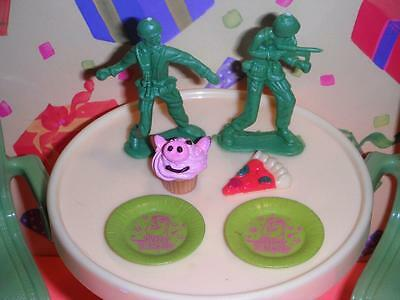 Disney Pixar Toy Story Army Men Hamm Cupcake Buzz Light Year Plates Dollhouse Lt