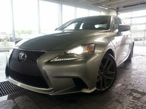 2015 Lexus IS 350 F SPORT III AWD; AUDIO TOIT GPS HIGHLY SOUGHT