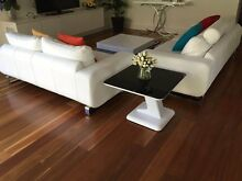 Beyond furniture quality white leather sofas Neutral Bay North Sydney Area Preview