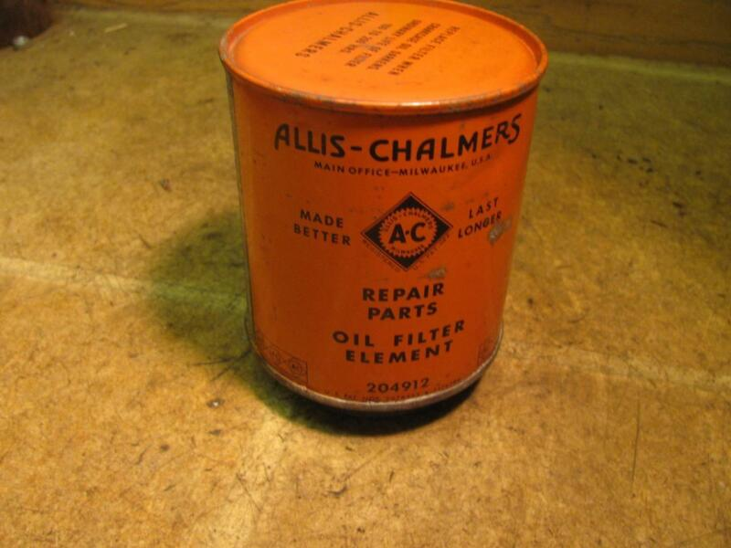 Allis Chalmers 204912 Oil Filter WD WC Tractor Display