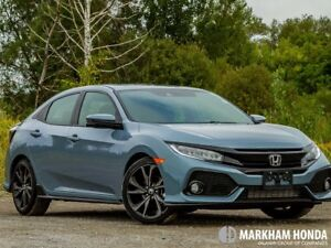 2018 Honda Civic HB Sport Touring HS CVT - LEATHER|NAVI|SUNROOF
