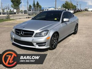 2014 Mercedes Benz C-Class C350 4MATIC / Back up Camera / Navi /