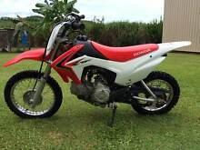 2014 Honda CRF110F motorbike Mossman Cairns Surrounds Preview