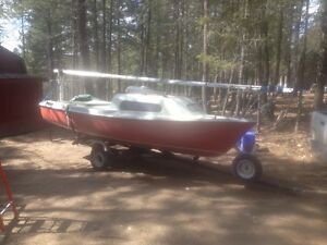 Siren 17ft Sailboat with Trailer and Motor