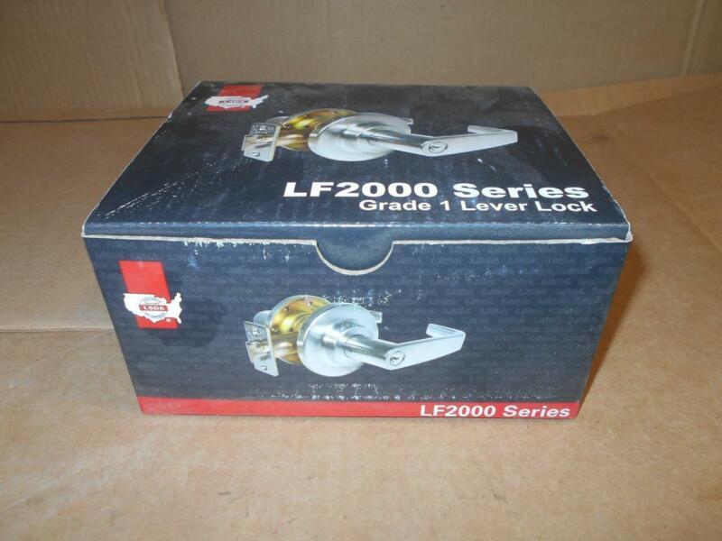 2 LSDA GRADE 1 COMMERCIAL ENTRY LEVER LOCK LF2000 SERIES ~