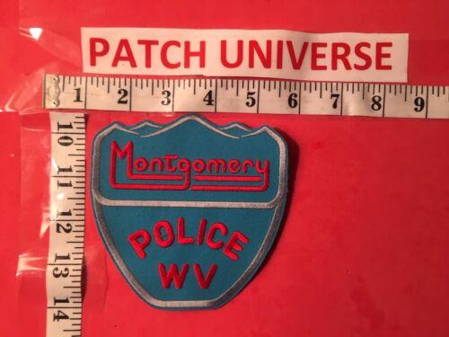 MONTGOMERY WV POLICE SHOULDER PATCH  B031