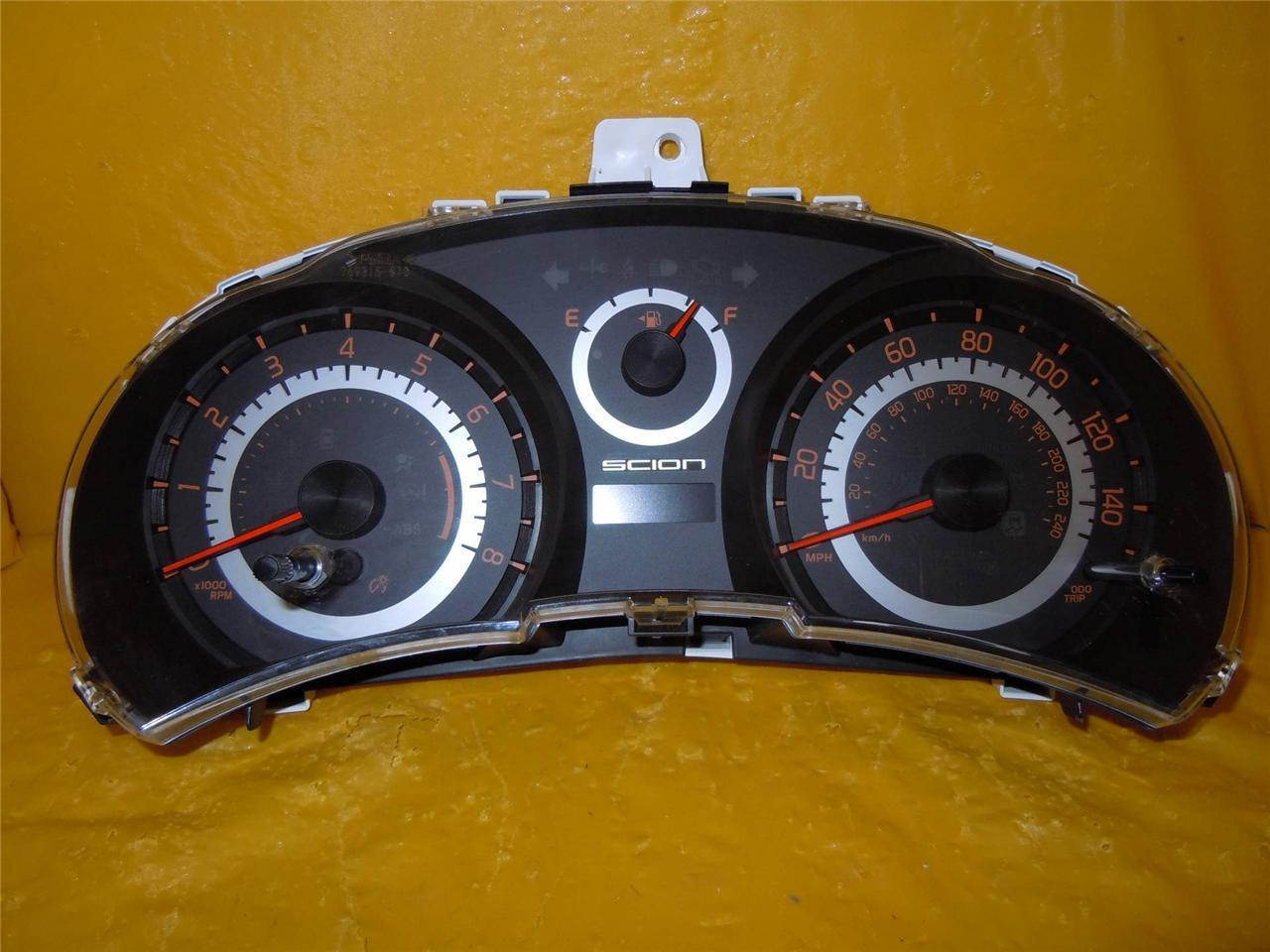 2011 2012 2013 Scion TC Speedometer Instrument Cluster Dash Panel Gauges 1999