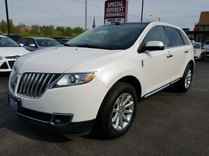 2011 Lincoln MKX NAVIGATION !! SUNROOF !!  REAR CAMERA !!