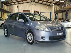 2011 Toyota Corolla ZRE152R MY11 Ascent Grey 4 Speed Automatic Hatchback Seven Hills Blacktown Area Preview