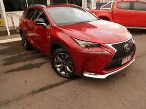 2016 Lexus NX AGZ15R NX200t AWD F Sport Vermillion 6 Speed Sports Automatic Wagon North Lakes Pine Rivers Area Preview