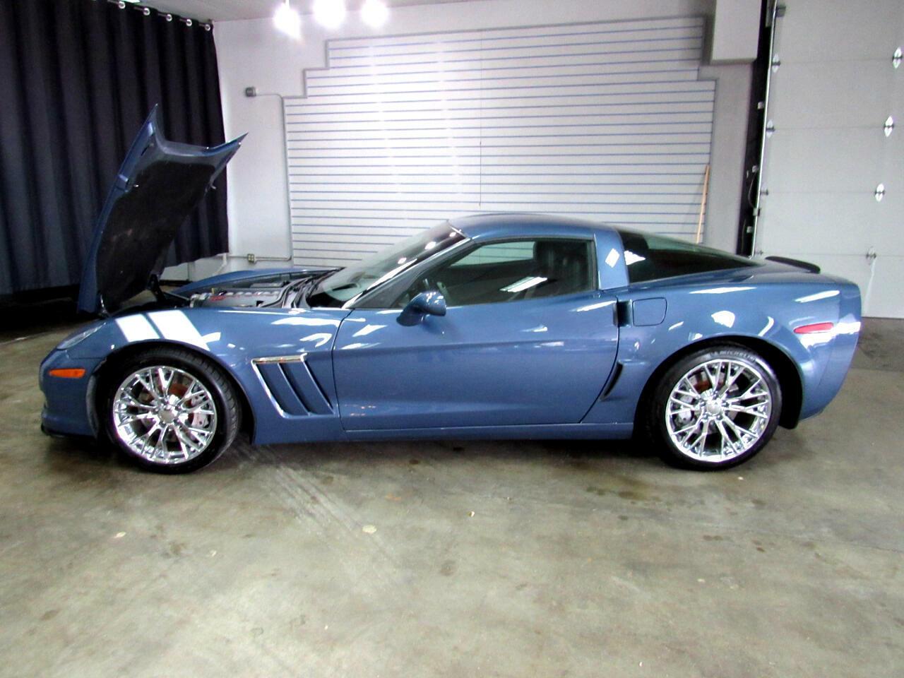 2011 Blue Chevrolet Corvette Coupe 3LT   C6 Corvette Photo 2