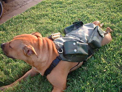 CANINE WEIGHT SET®/Weighted Animal Vest®-Medium 20lbs. - Dog Size: 40-70 LBS.