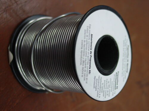 """Electrical & Metalworking - Rosin Core Solder 40/60 .060"""" 1 Lb roll"""