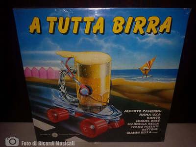 A TUTTA BIRRA (SIGILLATO) LP Camerini, Anna Oxa, Rettore, Banco, Fossati
